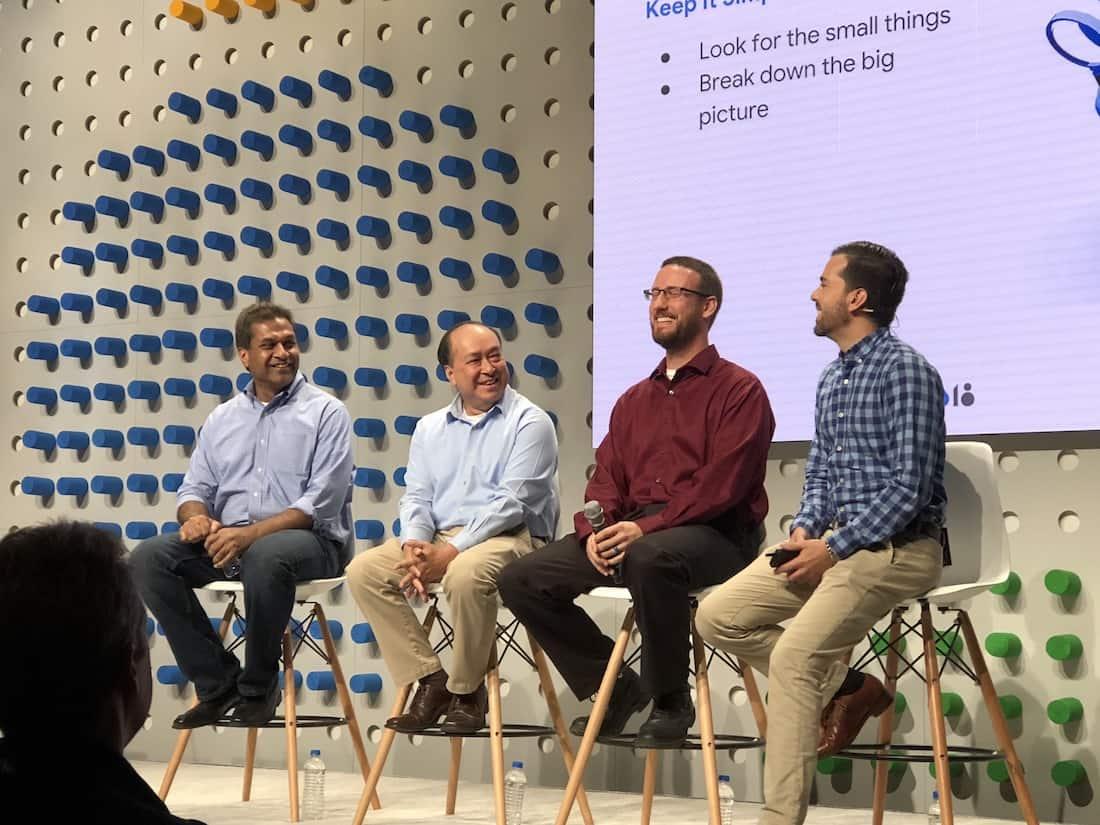 Google Cloud Next 2018: Arun K. Aggarwal, Steven Butschi, Steven Nguyen, Joshua Humphrey