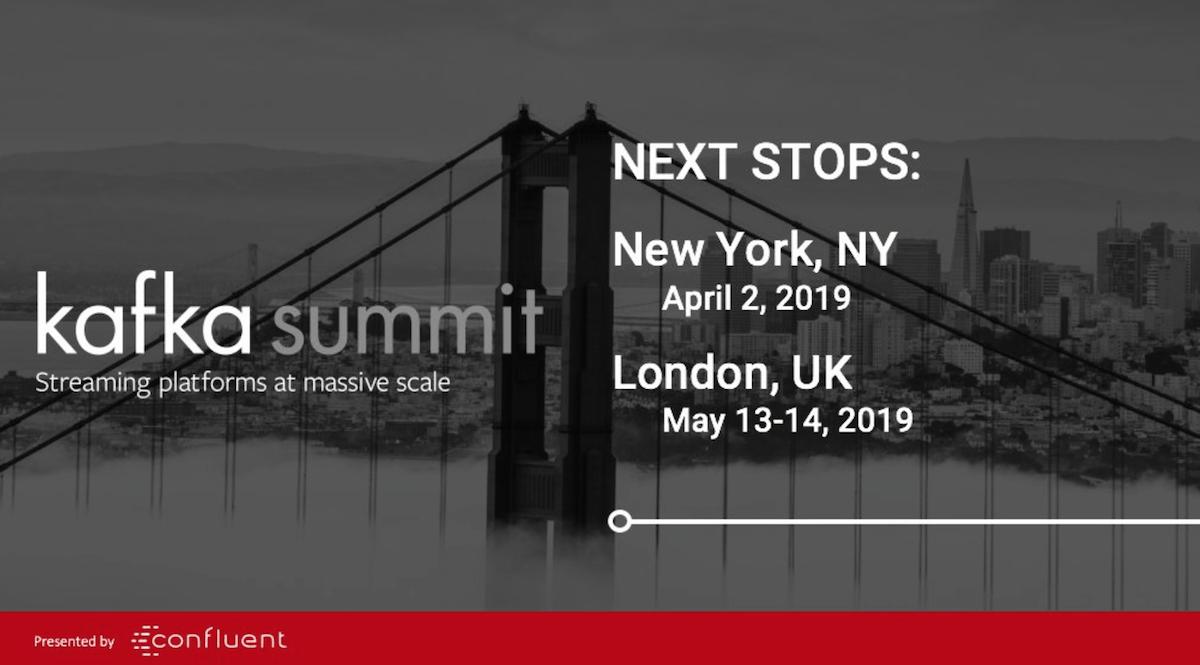 Kafka Summit in New York and London