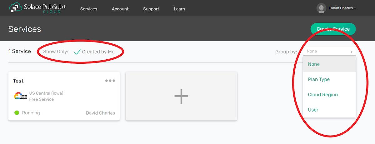 PubSub+ filtering