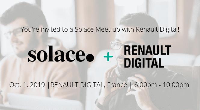 Developer MeetUp at Renault Paris - October 1, 2019