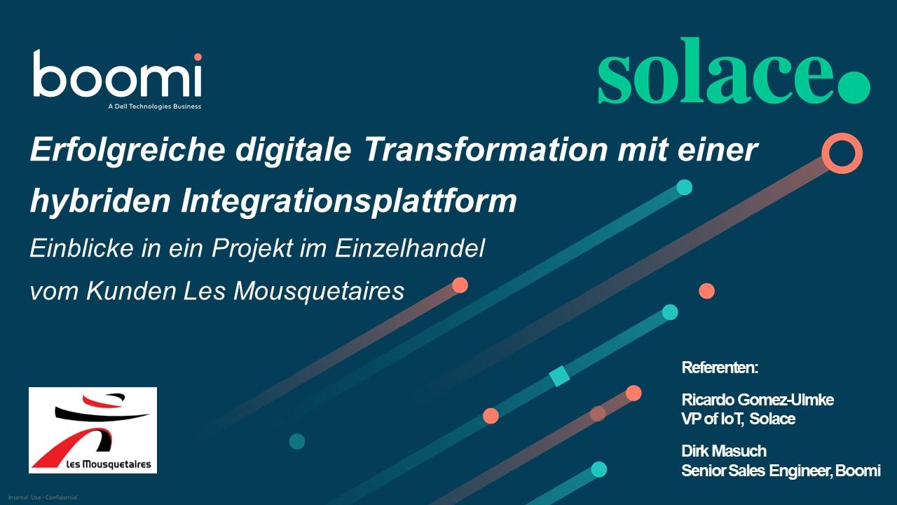 Erfolgreiche digitale Transformation mit einer hybriden Integrationsplattform