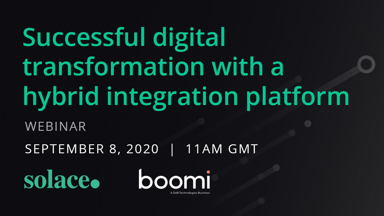 Webinar: Successful digital transformation with a hybrid integration platform