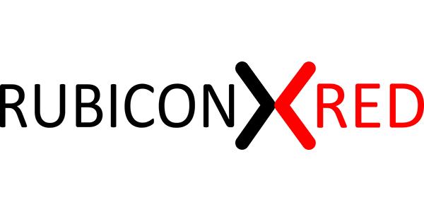 RubiconRed Logo White