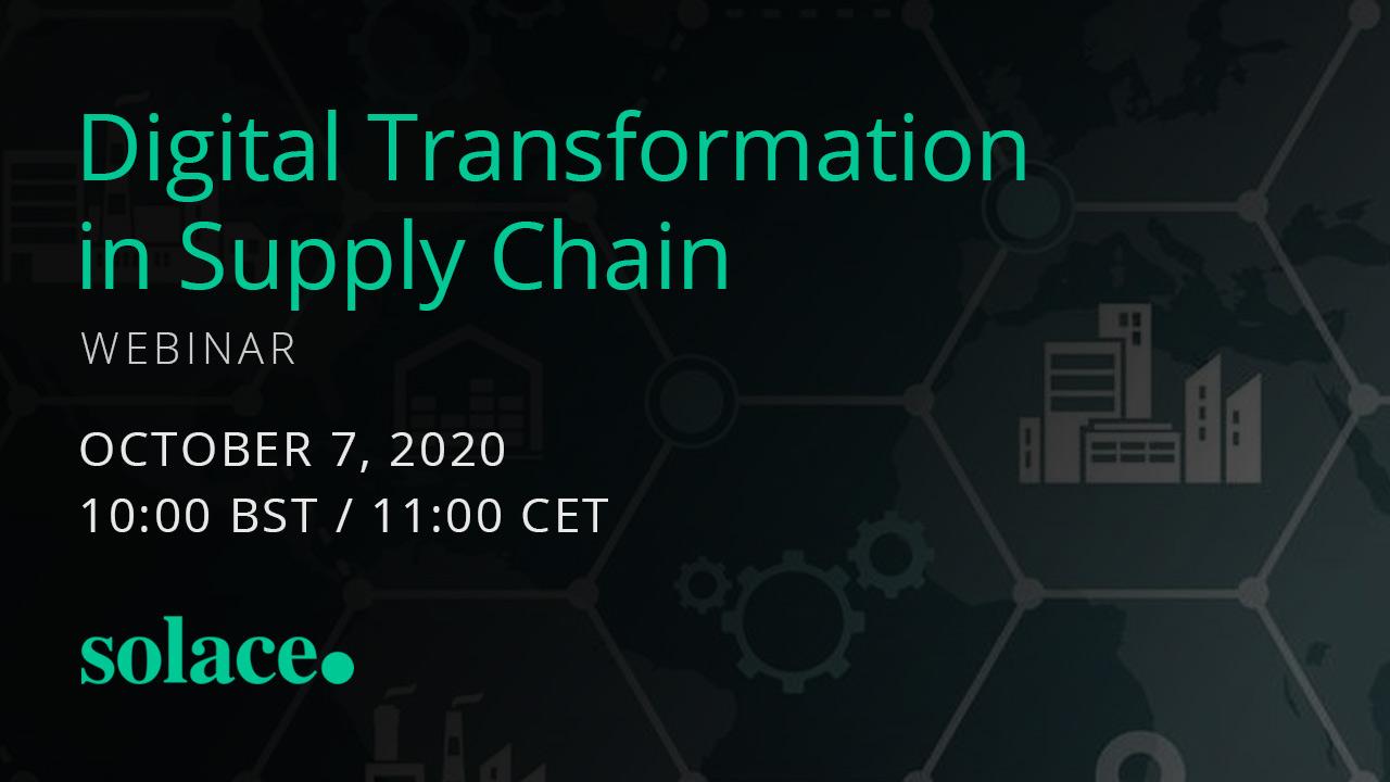 Webinar: Digital Transformation in Supply Chain