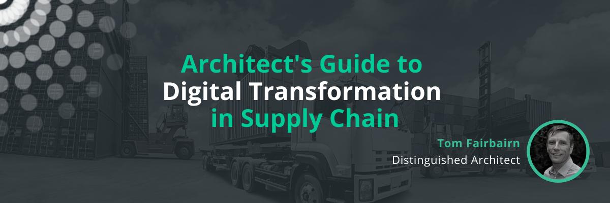 supply chain management digital transformation