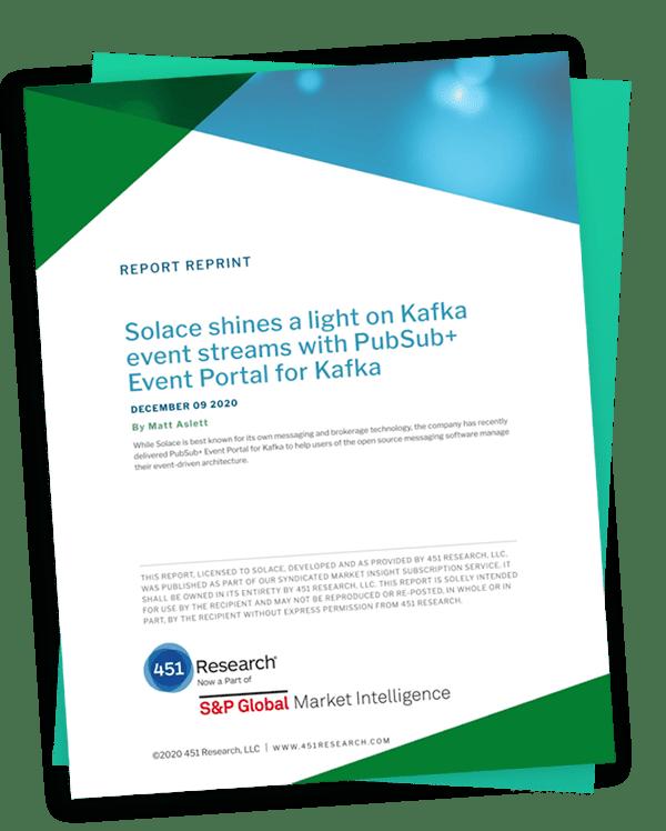 PubSub+ Event Portal for Kafka - add 451 Research Report Reprint