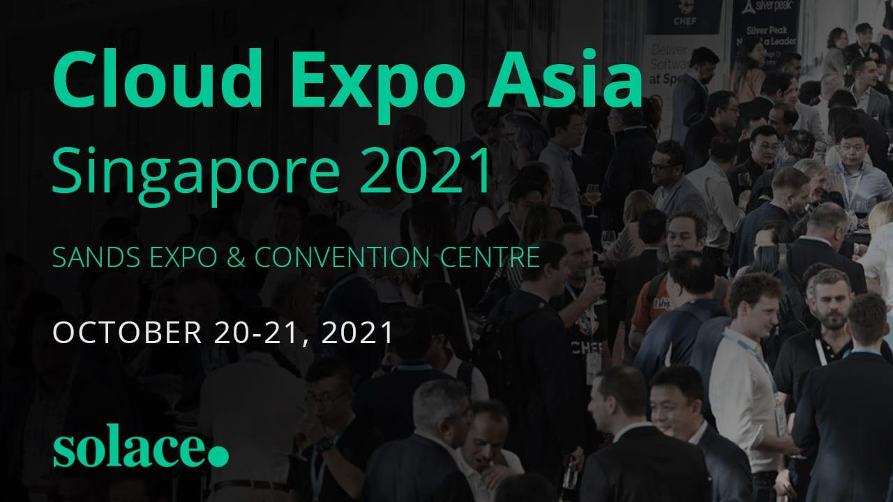 Cloud Expo Asia, Singapore 2021