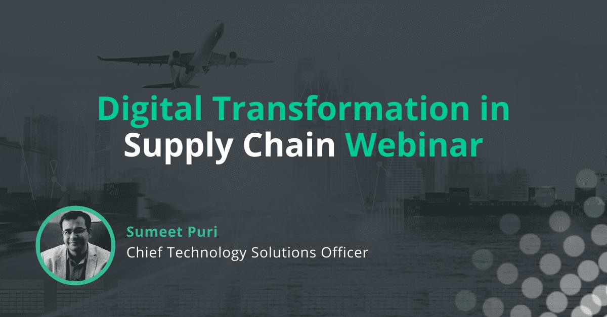 Event: Digital Transformation in Supply Chain Webinar